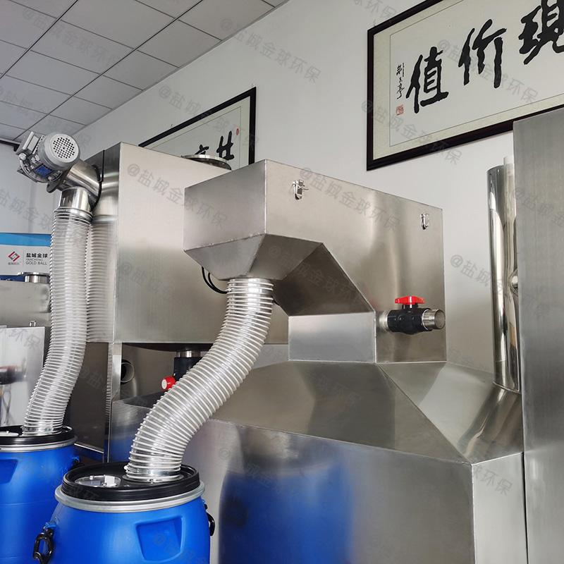 闸北手动式隔油提升一体化设备设计说明