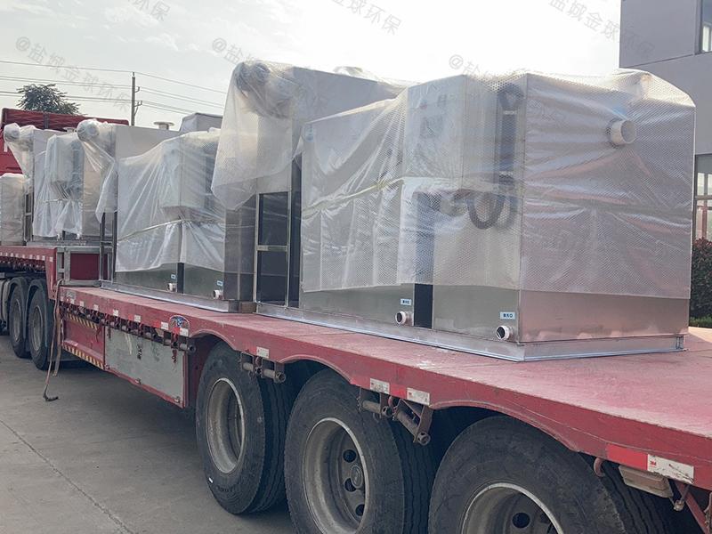 上海高效油脂分离器处理原理