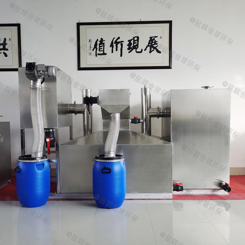 上海大型隔油隔渣设备立体效果图