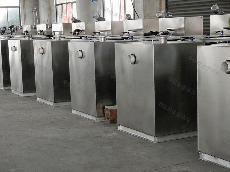 浦东新别墅隔油隔渣设备做多大现货供应