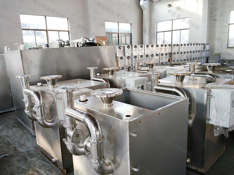 闸北多功能隔油设备设计说明