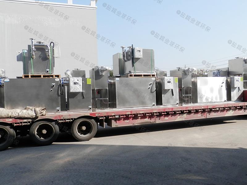 闵行三级滤油一体化隔油提升设备图