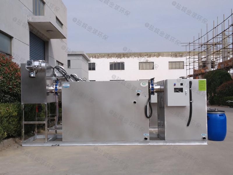 青浦自动一体化隔油提升设备全套图集