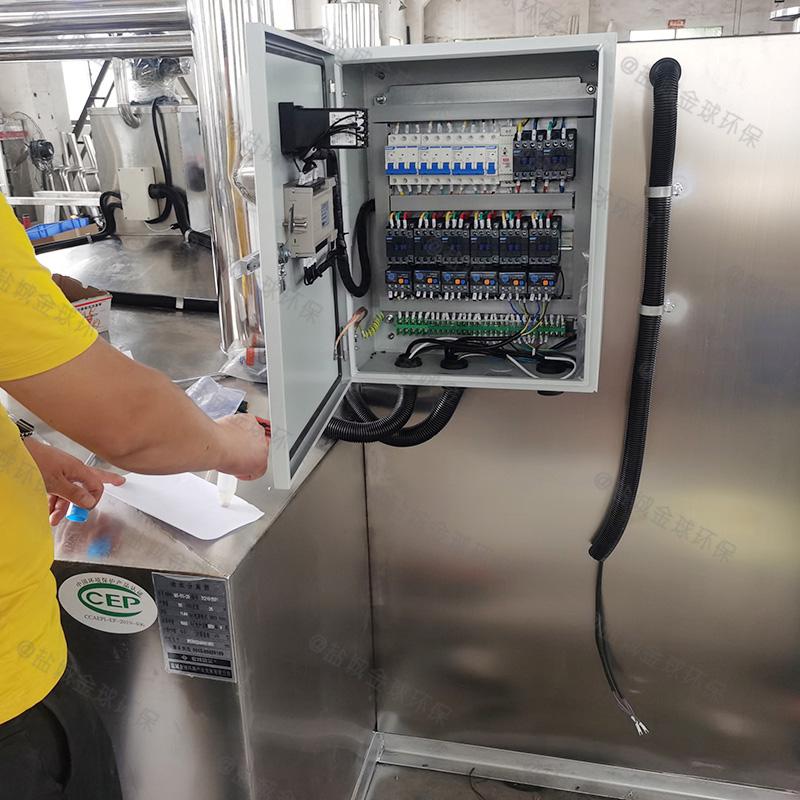闸北火锅店专用隔油提升一体化设备标牌款式新颖