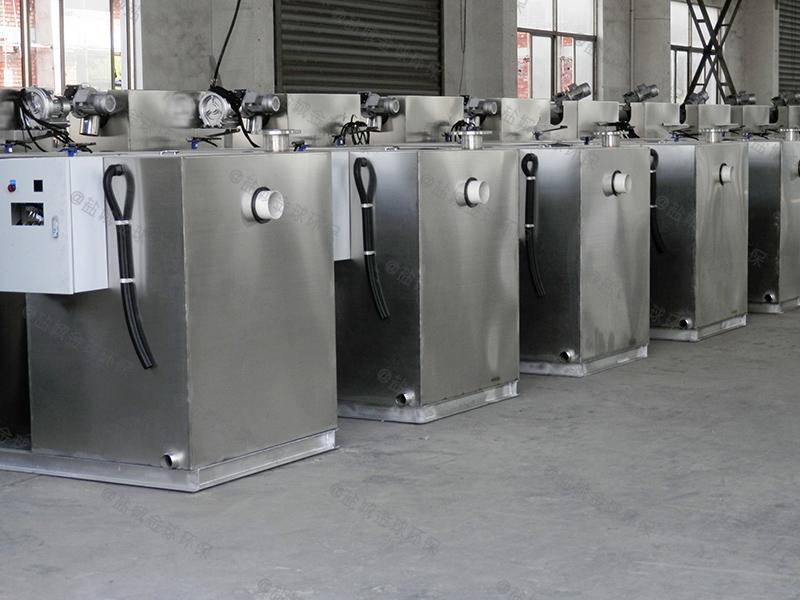 长宁量身定做一体化隔油提升设备容积