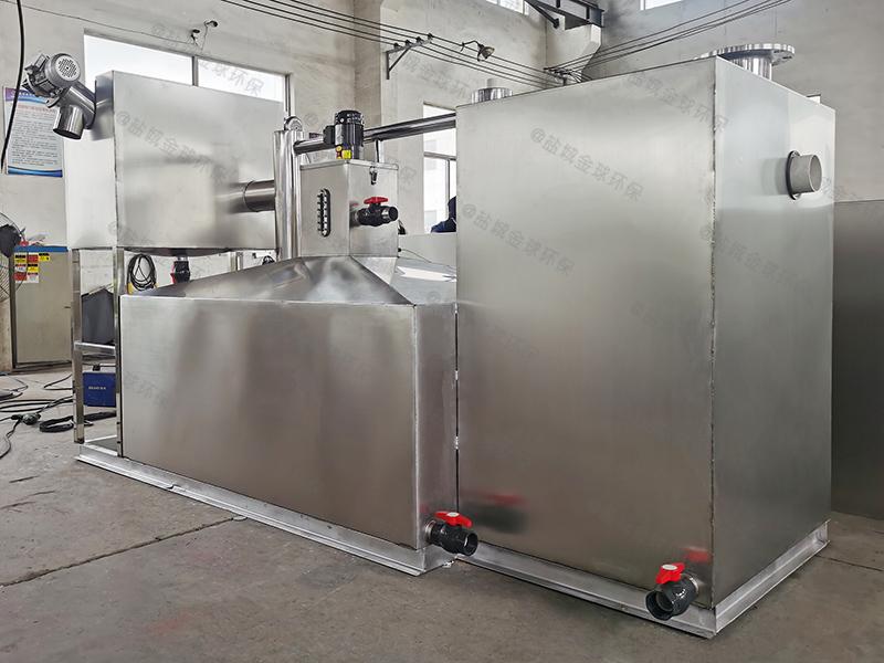 杨浦手动油脂分离器原理结构