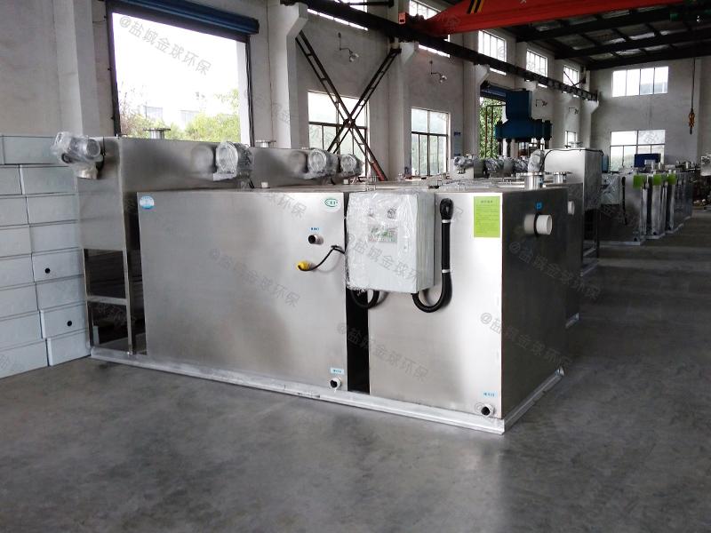 嘉定食堂隔油隔渣设备尺寸厂家货源