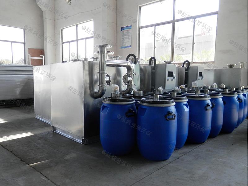 宝山食品厂隔油提升设备大样图欢迎咨询