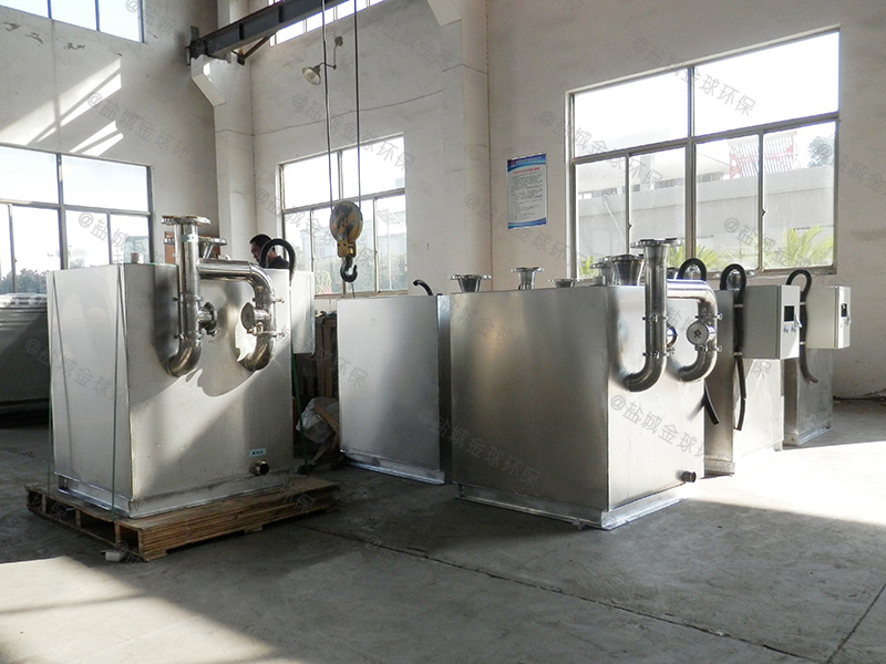杨浦餐馆油水分离设备图纸技术雄厚