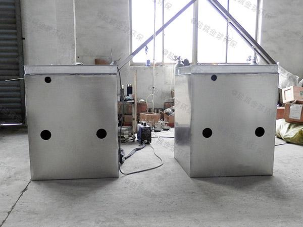 徐汇餐馆油水分离器结构图现货供应