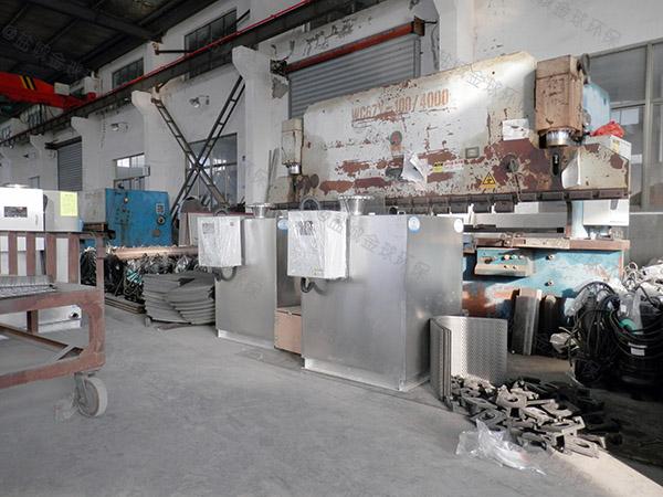 普陀食品厂隔油器大样图专业生产