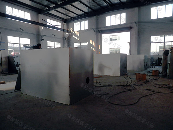 青浦饭店一体化隔油提升设备生产