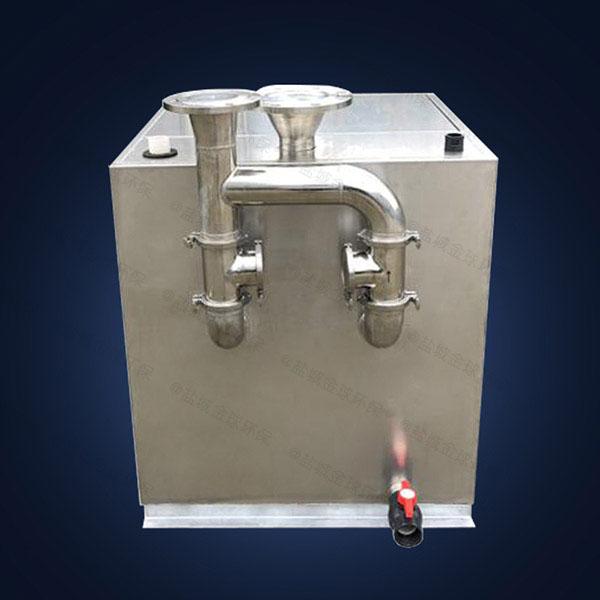 商用地面式多功能化油池生产商