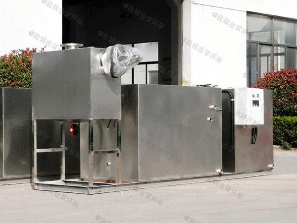 购物中心3.5米*1.35米*1.85米隔渣隔油除渣设备生产厂