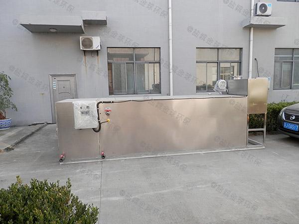 工厂食堂2号隔油隔油除油设备市场