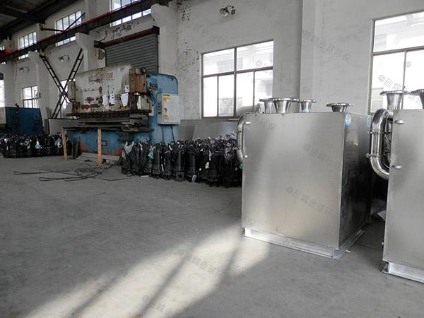 工程1000人隔渣隔油池设备图