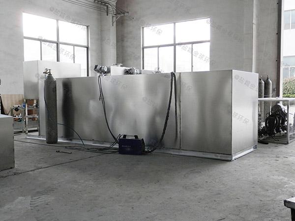 餐饮商户2号隔油隔渣隔悬浮物隔油全自动提升设备排行