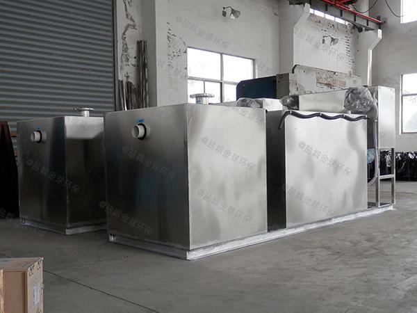 单位食堂500人隔渣隔油提污设备市场分析