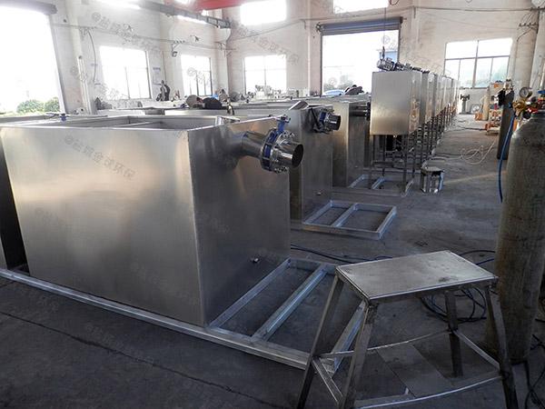 工厂食堂中小型混凝土隔油提升一体机排名