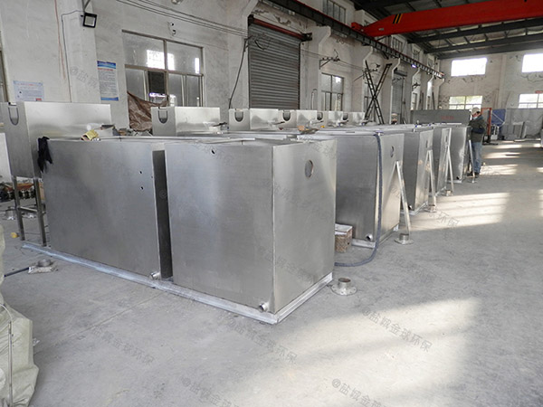 餐用8吨的长宽高混凝土隔油强排设备施工方案