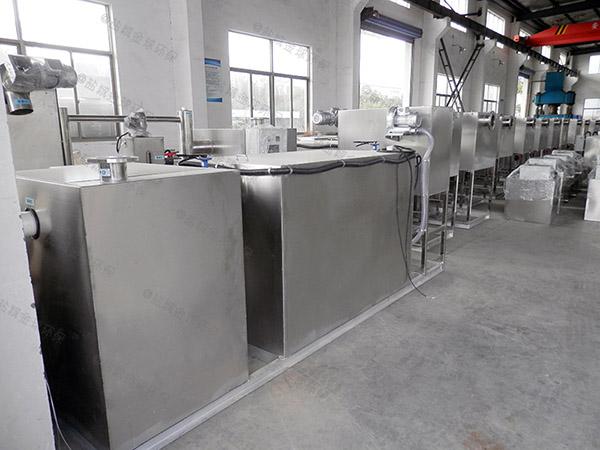 饭堂500人不锈钢隔油提升一体化生产商