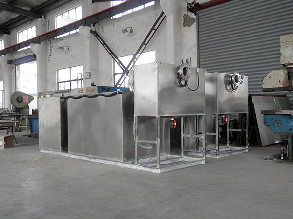 饭堂中小型混凝土隔油一体化设备排放标准