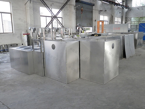厨房用甲型混凝土隔油除渣设备求购