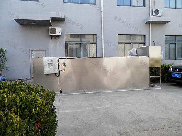 餐饮商户2号混凝土隔油池提升设备十大品牌