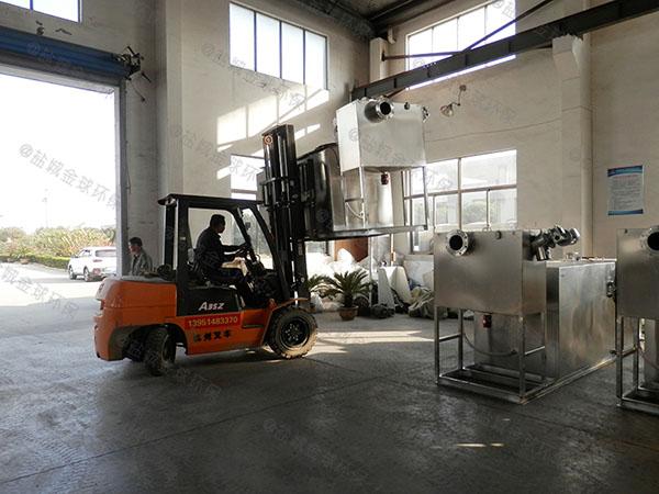 工地食堂甲型混凝土隔油过滤设备设计要求
