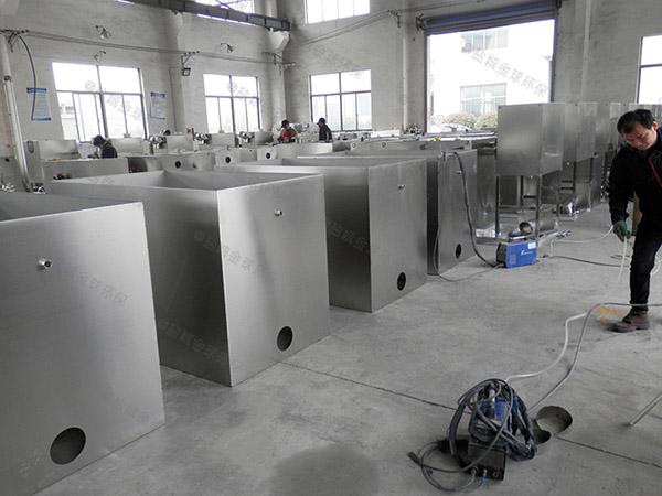 饭堂甲型砖砌隔油一体化提升装置使用寿命