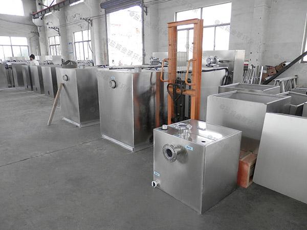 工地食堂500人混凝土隔油器提升设备如何选型