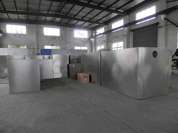 饭堂3.1米*1.2米*1.85米混凝土隔油除渣器生产厂