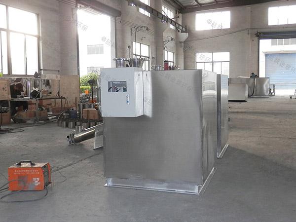 工厂食堂3.1米*1.2米*1.85米隔油隔渣隔悬浮物隔油成套设备介绍