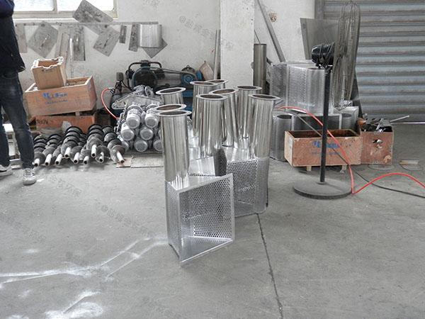 单位食堂30立方隔渣除油污水处理设备简介