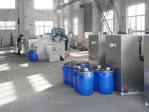 工地100人不锈钢隔油一体化提升装置施工方案