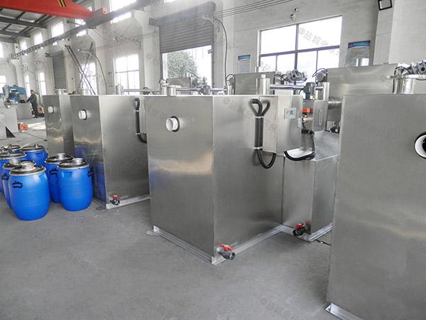 厨用30立方用砖做隔油污水提升装置如何