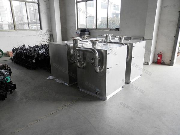 后厨小型混凝土隔油提升一体设备说明书
