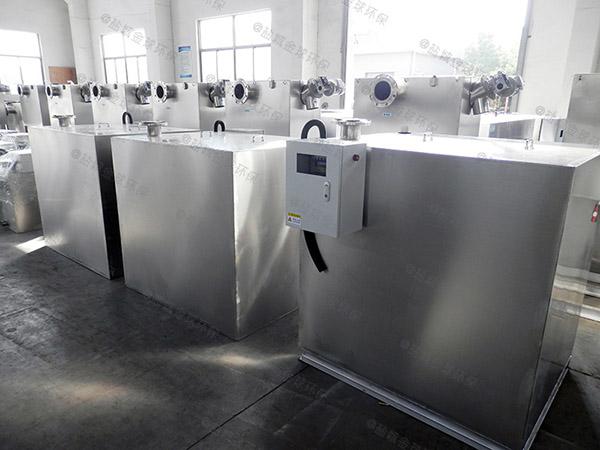餐用3.1米*1.2米*1.85米隔悬浮物隔油池设备适用行业