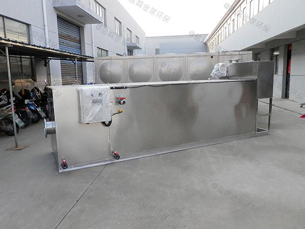 饭馆3.5米*1.35米*1.85米隔悬浮物隔油提升一体设备市场