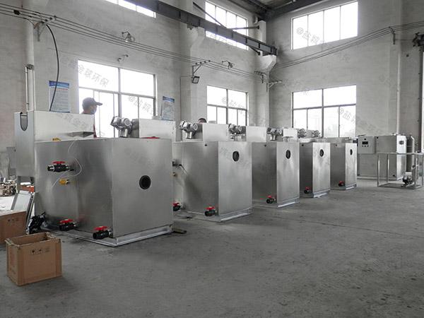厨下型500人隔油隔油一体化提升装置如何选型