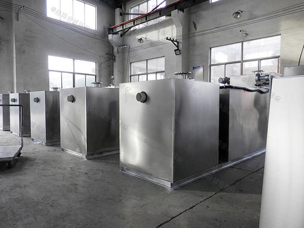 厨下型2.8米*1.2米*1.75米砖砌隔油除油设备施工工艺