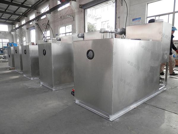 餐饮类2号隔悬浮物隔油除渣一体化设备介绍
