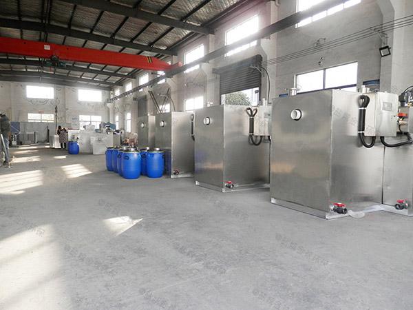 餐饮业3.5米*1.35米*1.85米隔油隔渣隔悬浮物隔油提污设备批发价