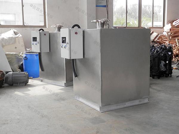 餐饮环保大型不锈钢隔油除渣一体化设备检测报告