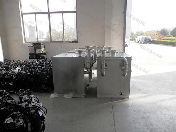 厨下型甲型隔油隔渣隔悬浮物隔油成套设备介绍
