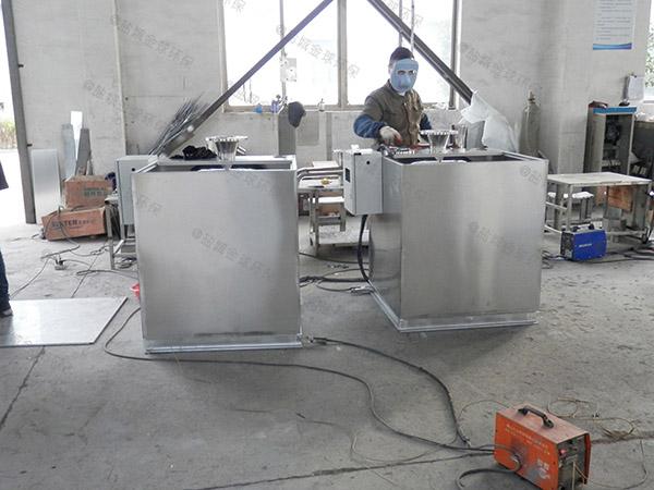 厨下型8吨的长宽高隔渣隔油池设备市场分析