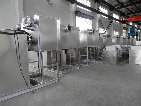 餐饮商户500人隔油隔渣隔悬浮物隔油全自动提升设备类型