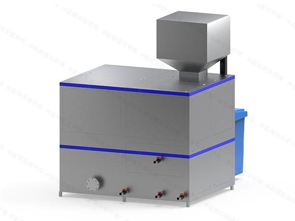 小型自动上料餐饮垃圾减量处理机器技术