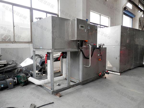 日处理10吨自动化厨余垃圾处理装置参数