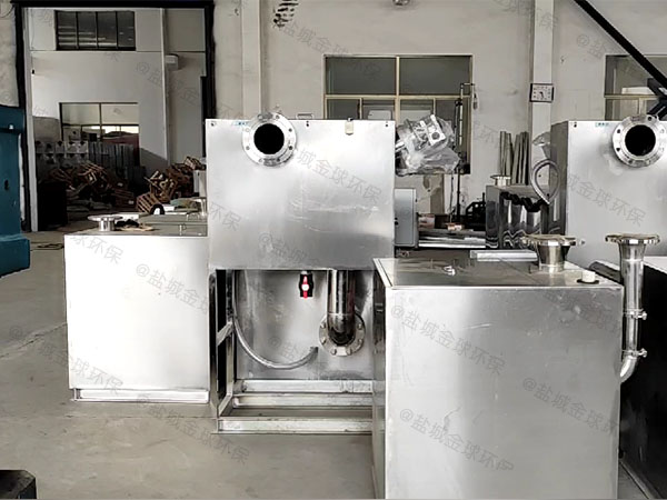餐饮行业2.8米*1.2米*1.75米混凝土除渣隔油器市场